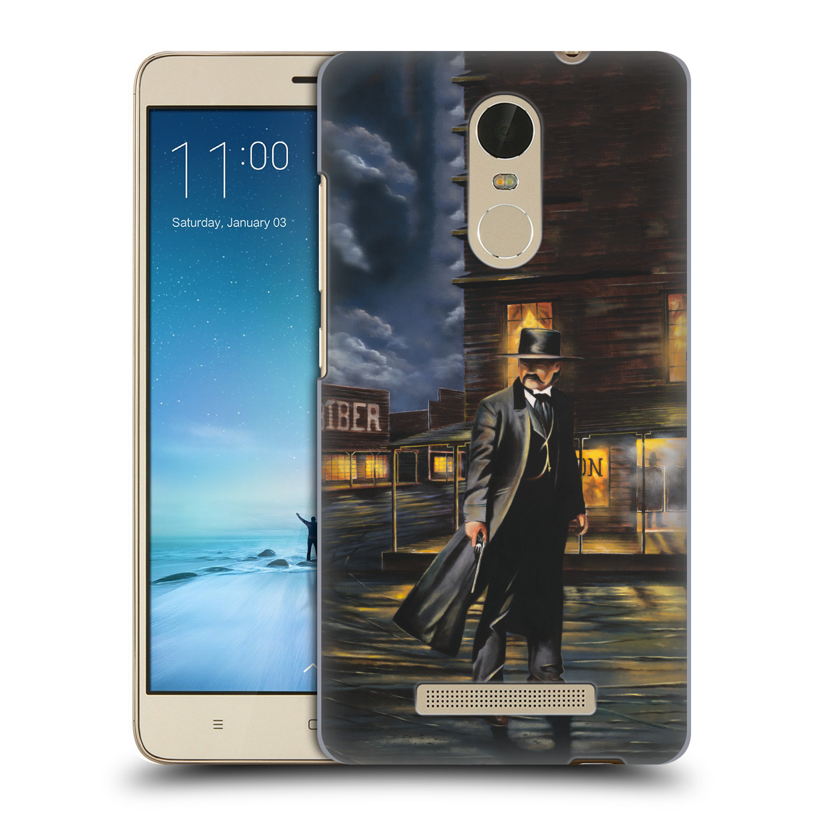 OFFICIAL-GENO-PEOPLES-ART-LIFE-HARD-BACK-CASE-FOR-XIAOMI-PHONES