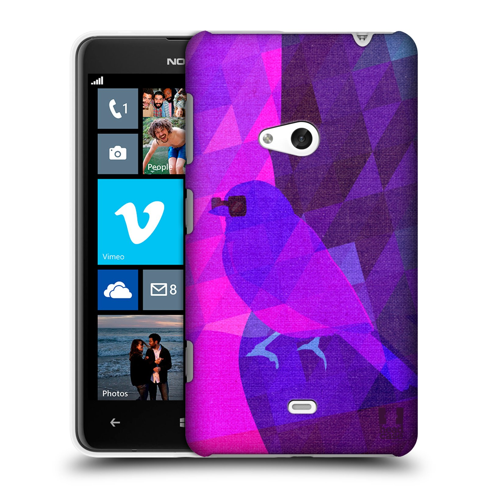 HEAD CASE ANIMAL CAMOUFLAGE SNAP-ON BACK COVER FOR NOKIA LUMIA 625