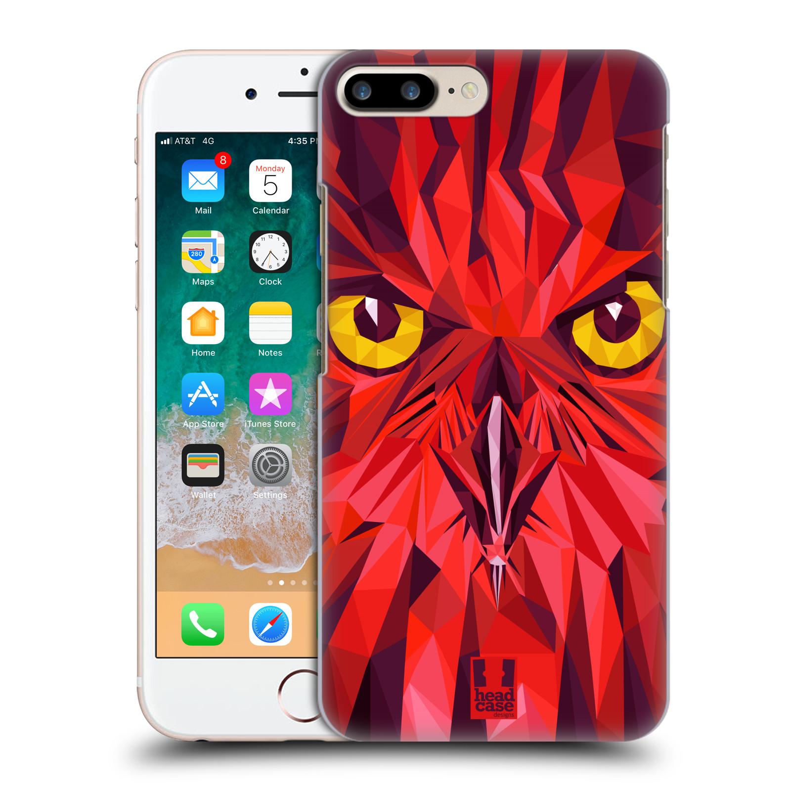 HEAD CASE plastový obal na mobil Apple Iphone 7 PLUS vzor Geometrická zvířata sova
