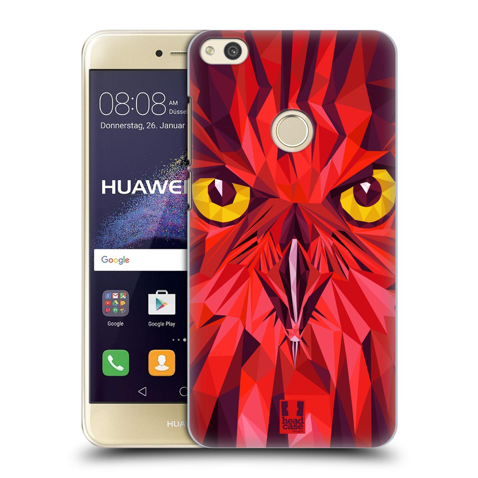 HEAD CASE silikonový obal na mobil Huawei P8 LITE 2017 vzor Geometrická zvířata sova