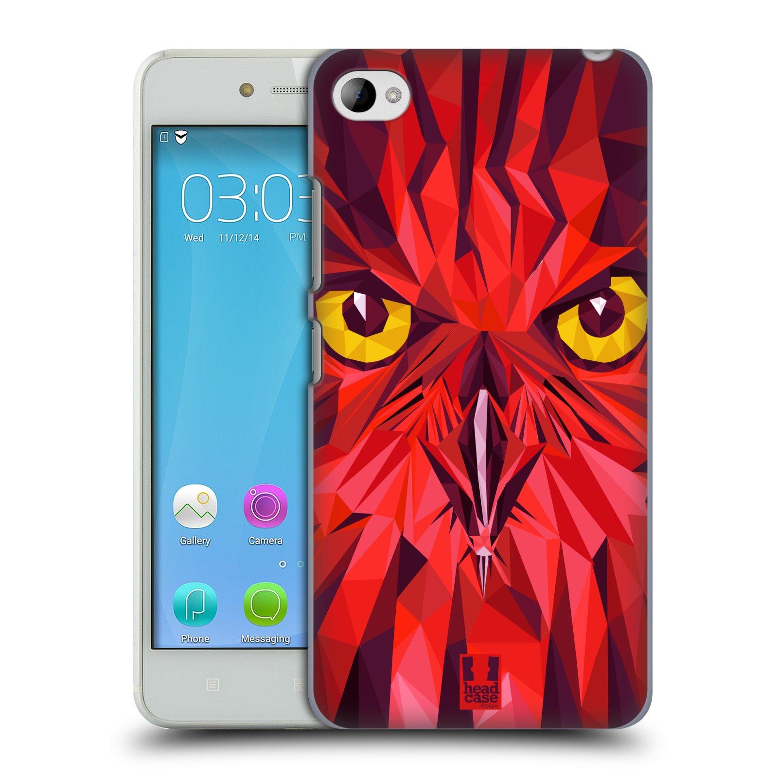 HEAD CASE pevný plastový obal na mobil LENOVO S90 vzor Geometrická zvířata sova