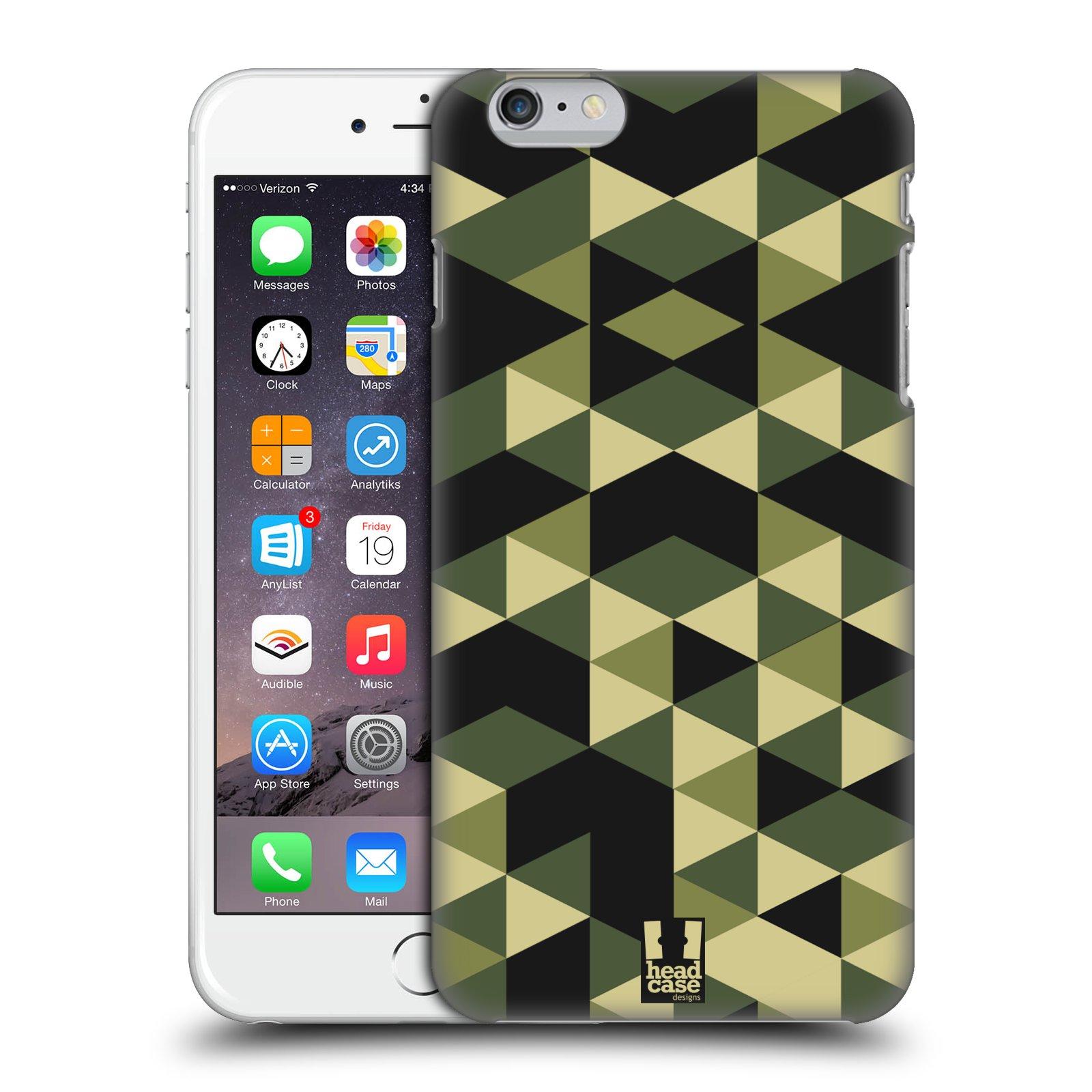 HEAD CASE DESIGNS GEOMETRIC CAMO CASE COVER FOR APPLE iPHONE 6 PLUS 5.5