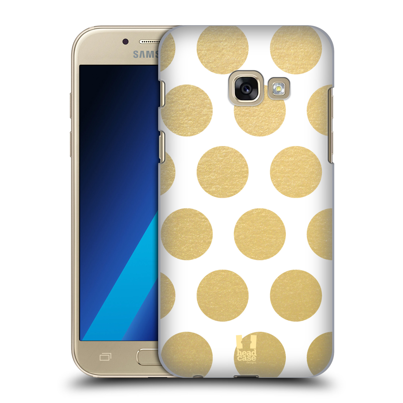HEAD-CASE-DESIGNS-GRAND-AS-GOLD-HARD-BACK-CASE-FOR-SAMSUNG-GALAXY-A3-2017