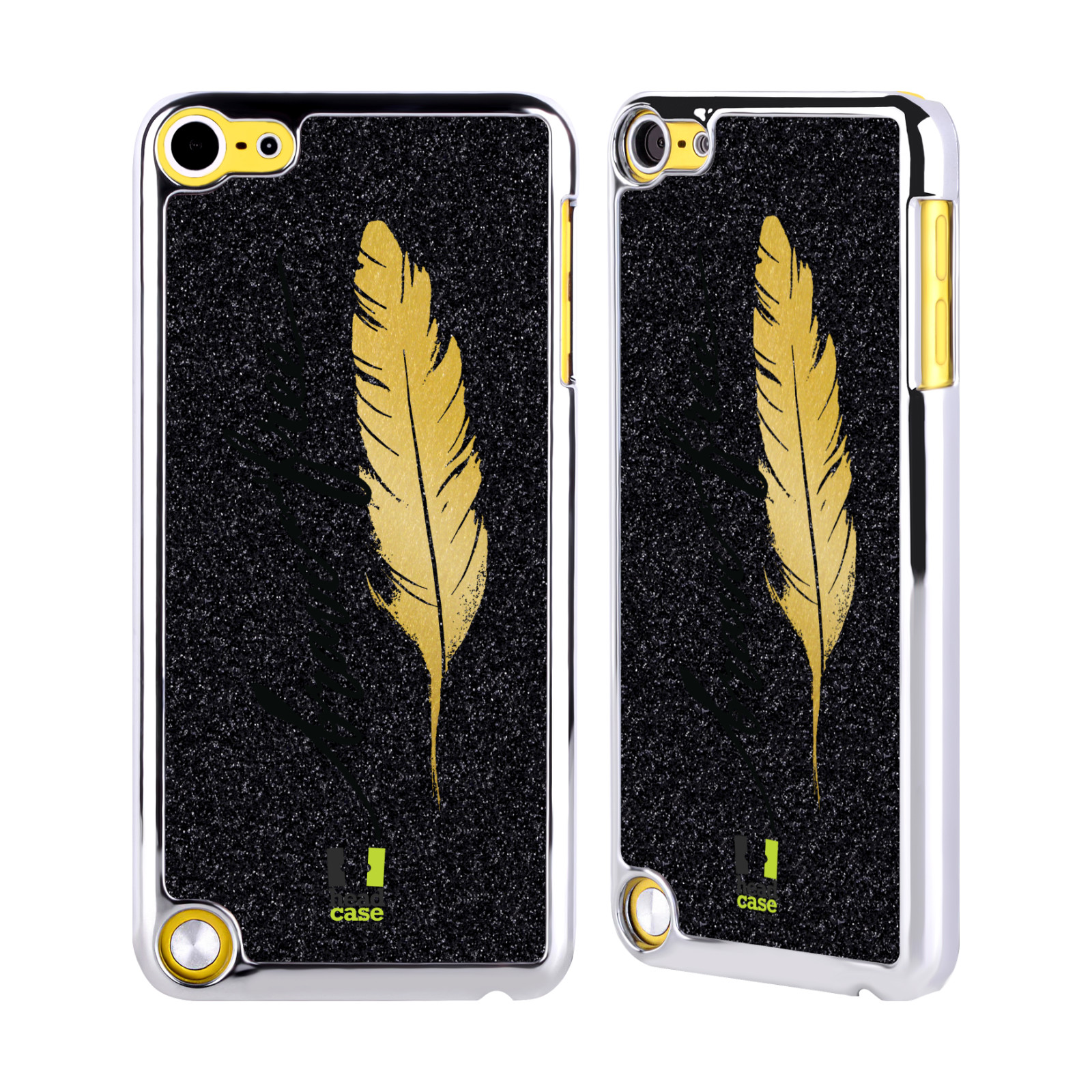 head case grand as gold black chrome glitter case for apple ipod touch mp3 ebay. Black Bedroom Furniture Sets. Home Design Ideas