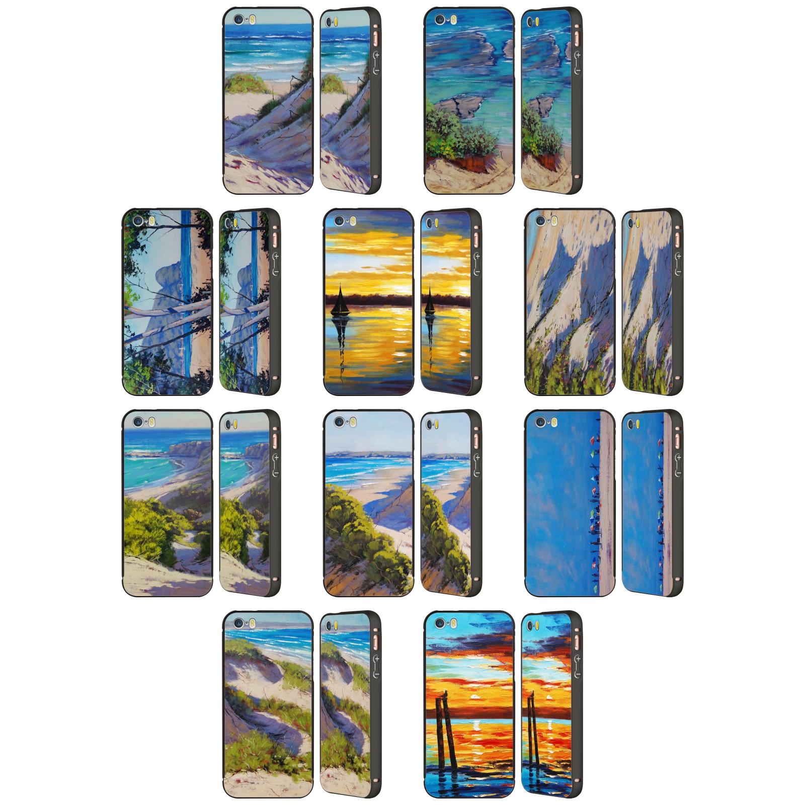 OFFICIAL-GRAHAM-GERCKEN-SUMMER-BLACK-BUMPER-SLIDER-CASE-FOR-APPLE-iPHONE-PHONES