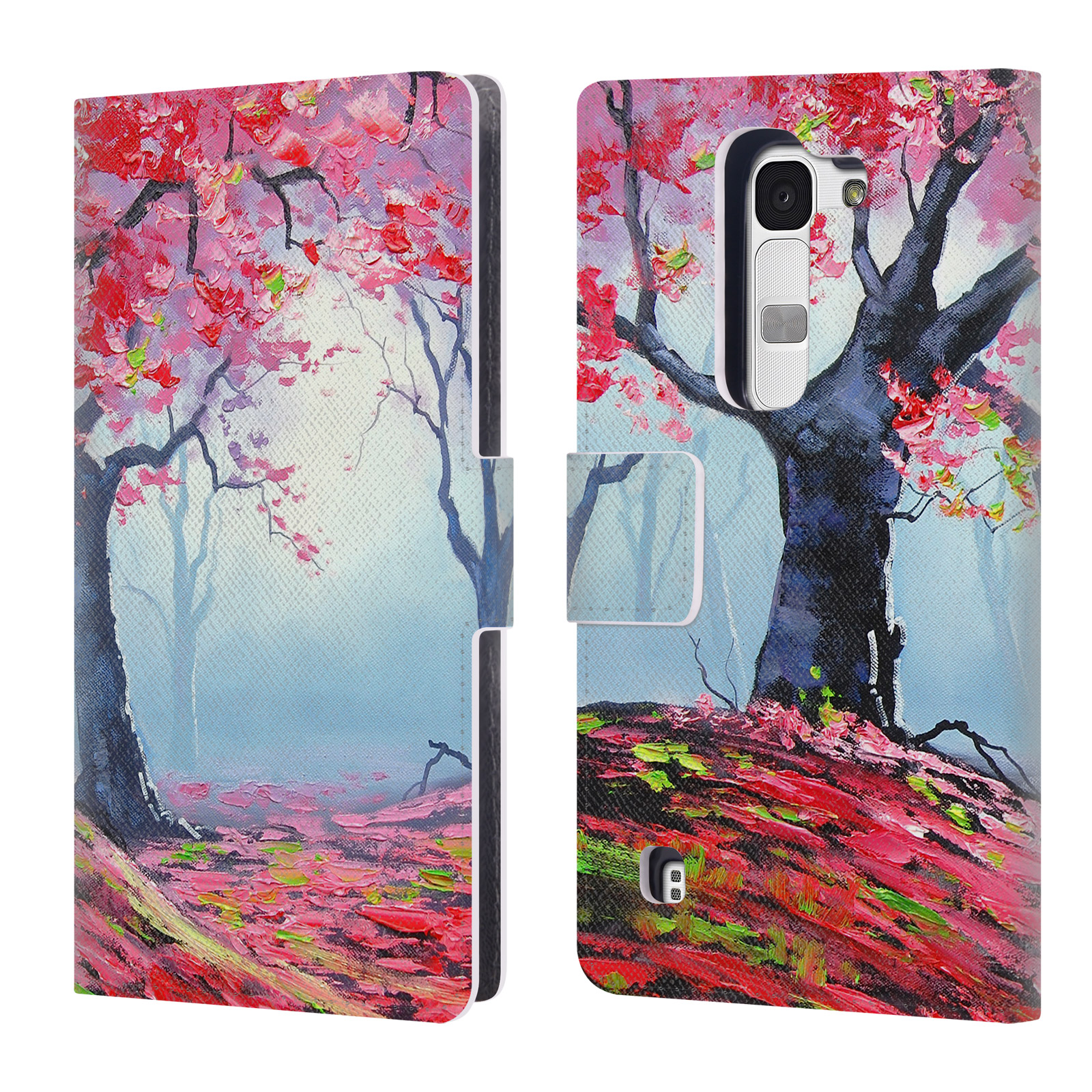 OFFICIAL-GRAHAM-GERCKEN-TREES-LEATHER-BOOK-WALLET-CASE-COVER-FOR-LG-PHONES-2
