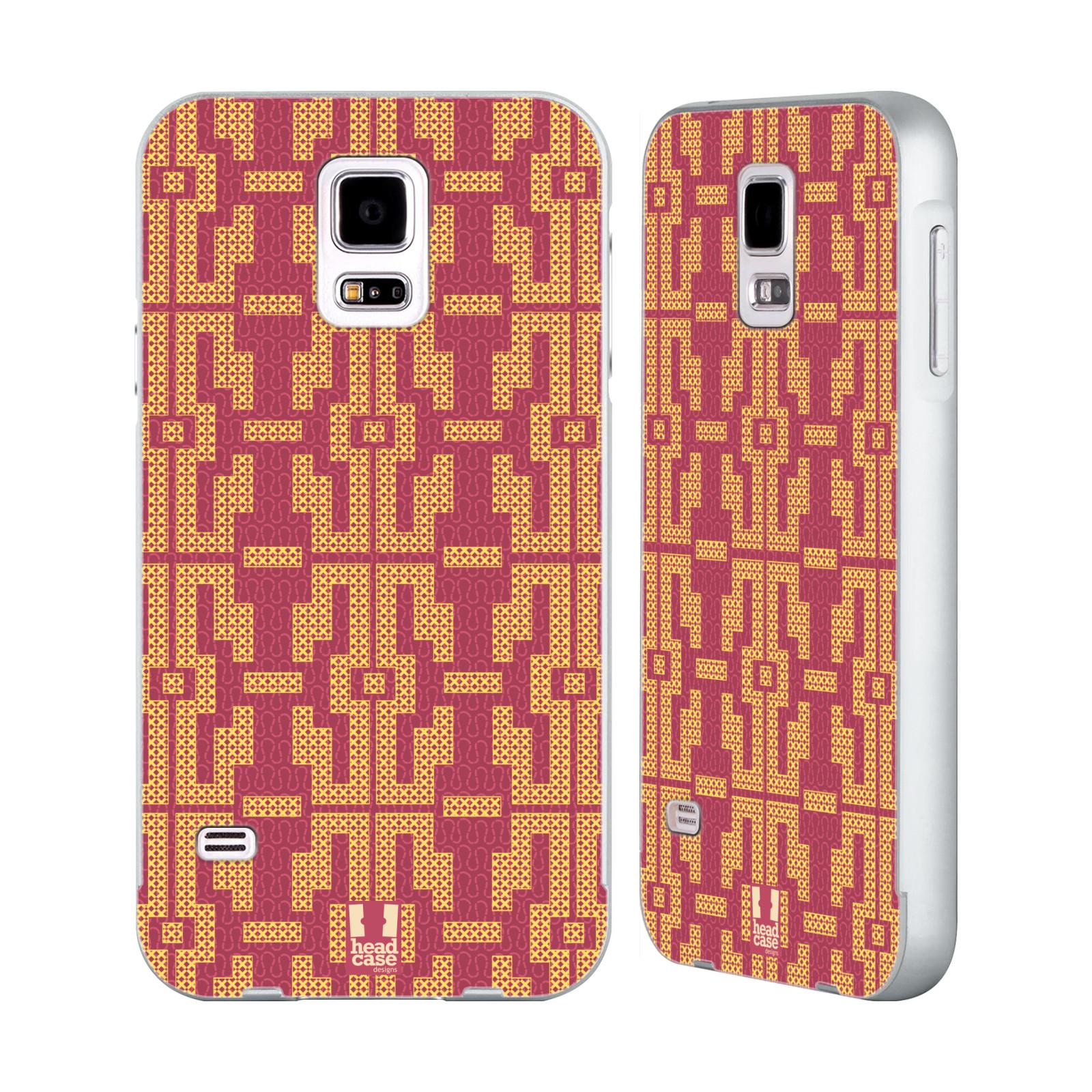 HEAD-CASE-DESIGNS-GLAM-AMAZON-SILVER-BUMPER-SLIDER-CASE-FOR-SAMSUNG-PHONES