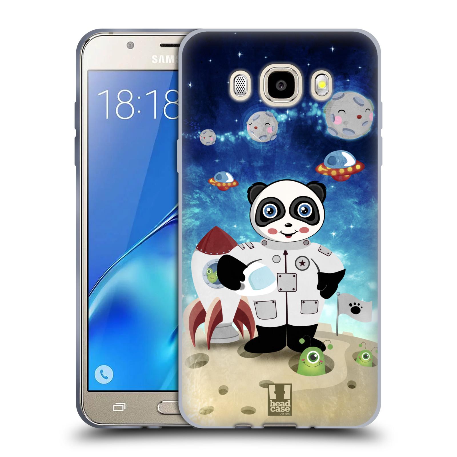 HEAD CASE silikonový obal, kryt na mobil Samsung Galaxy J5 2016, J510, J510F, (J510F DUAL SIM) vzor Zvířecí astronauti vetřelec