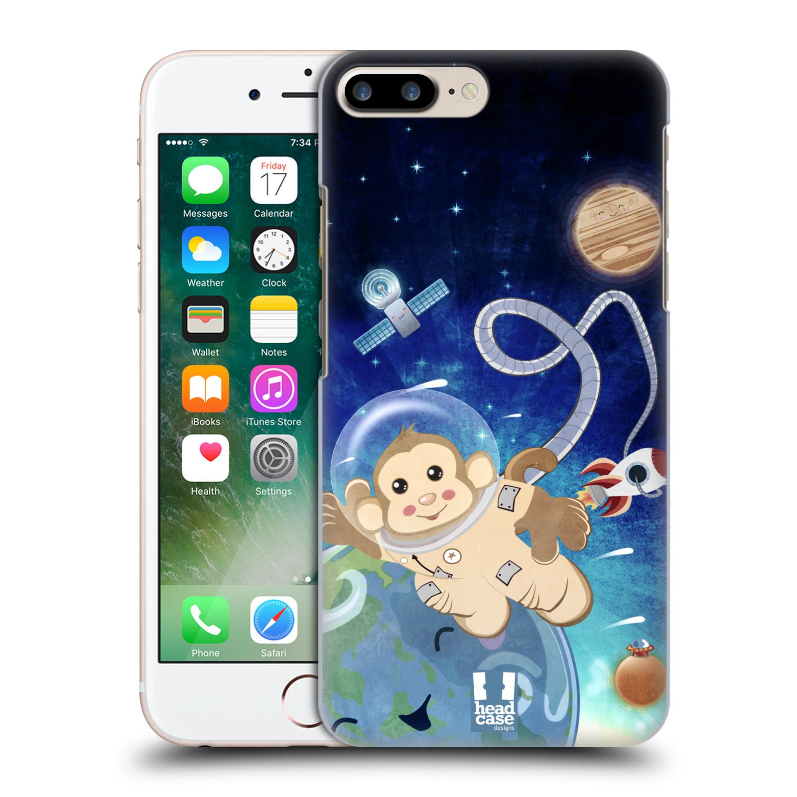 HEAD CASE plastový obal na mobil Apple Iphone 7 PLUS vzor Zvířecí astronauti opička