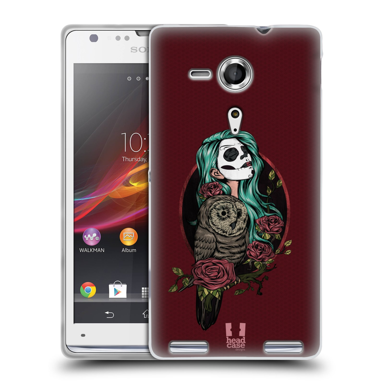 HEAD CASE GIRLS OF OWLS SILICONE GEL CASE FOR SONY XPERIA SP C5303