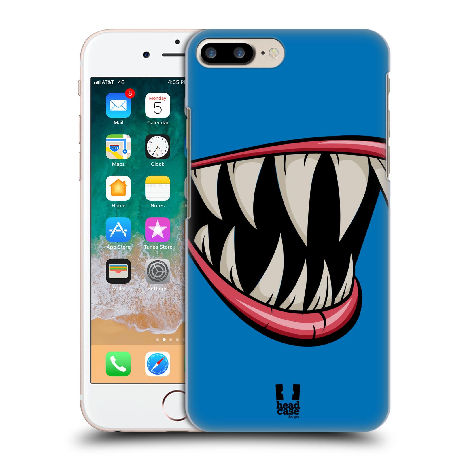 HEAD CASE plastový obal na mobil Apple Iphone 7 PLUS vzor Zvířecí úsměv ryba modrá