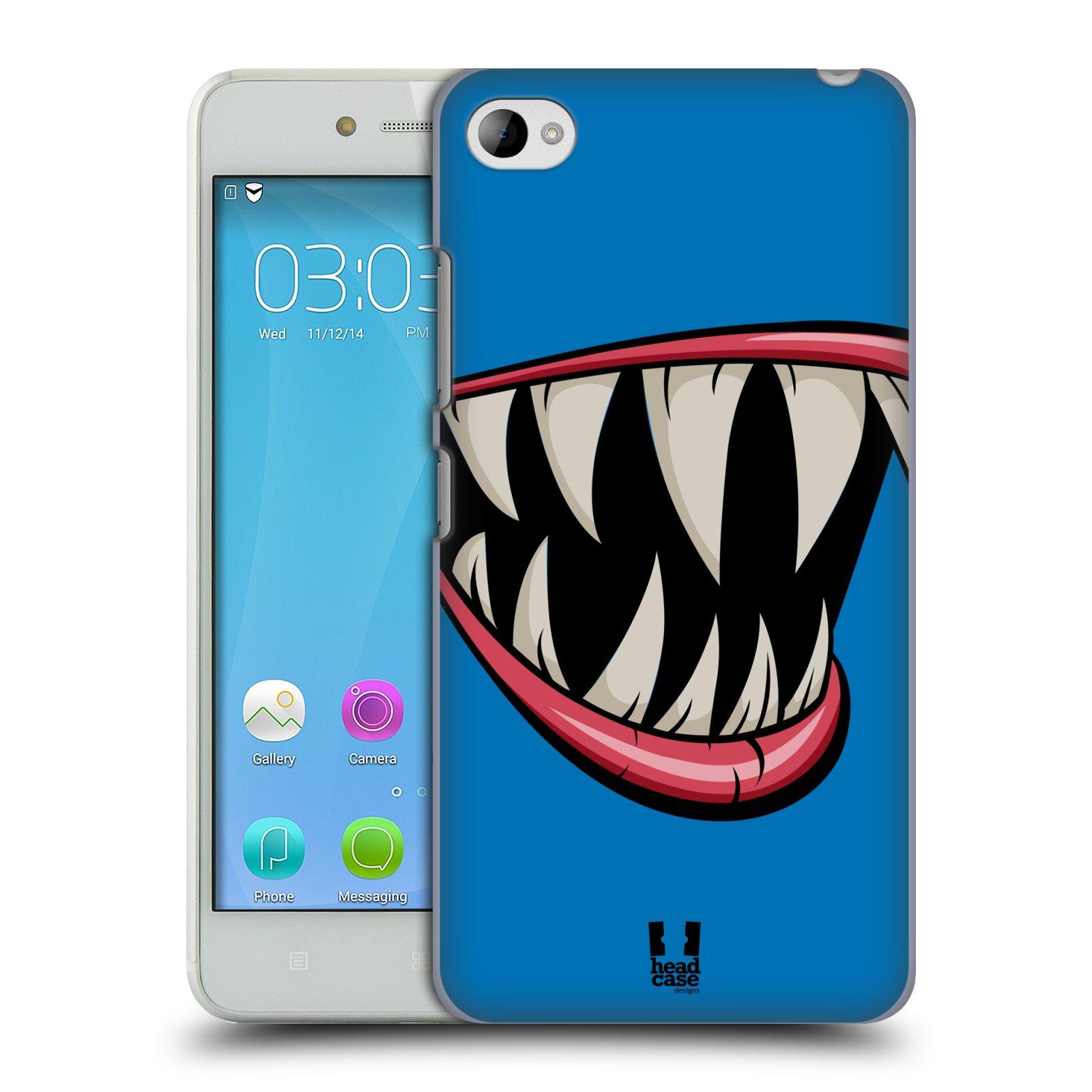 HEAD CASE pevný plastový obal na mobil LENOVO S90 vzor Zvířecí úsměv ryba modrá