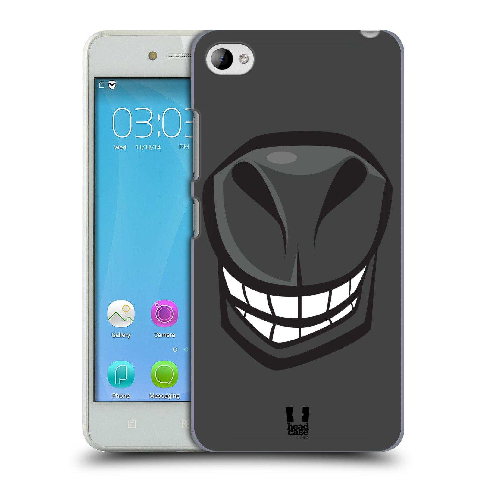 HEAD CASE pevný plastový obal na mobil LENOVO S90 vzor Zvířecí úsměv kůň šedá