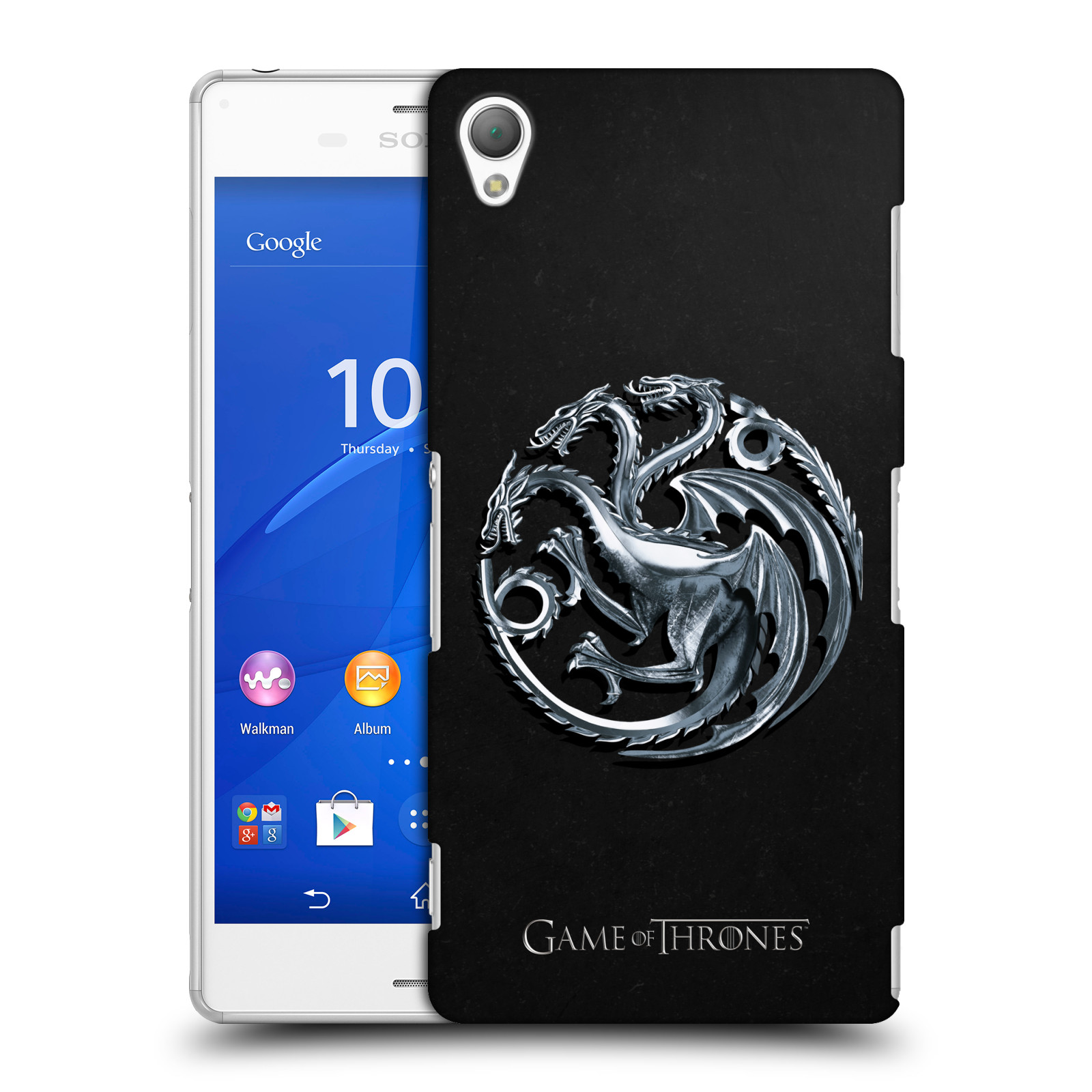 OFFICIAL HBO GAME OF THRONES EMBOSSED SIGILS HARD BACK CASE FOR SONY PHONES 1
