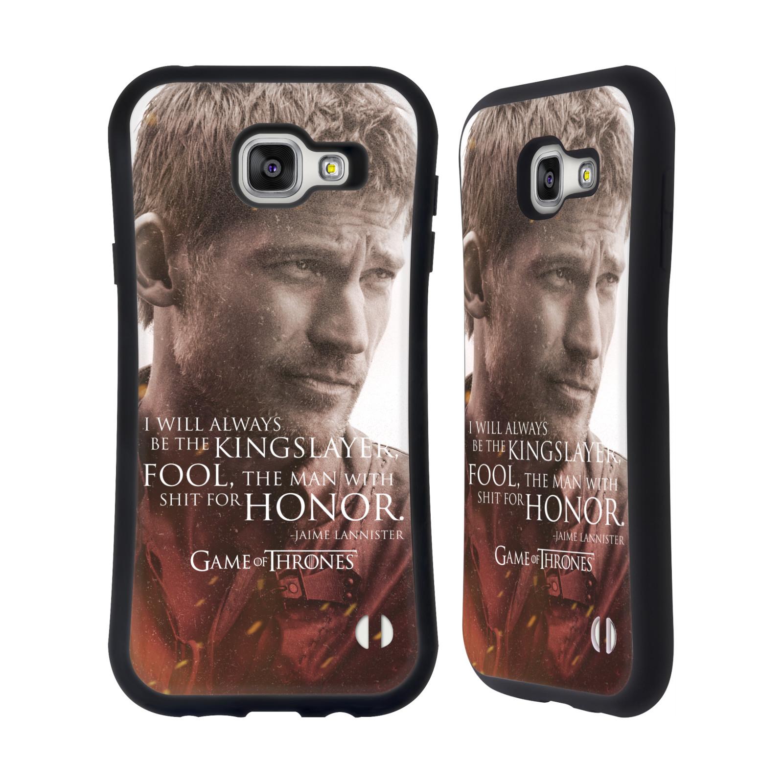 HEAD CASE silikon/plast odolný obal na mobil Samsung Galaxy A7 2016 (A710F) Hra o trůny postava Jaime Lannister králokat