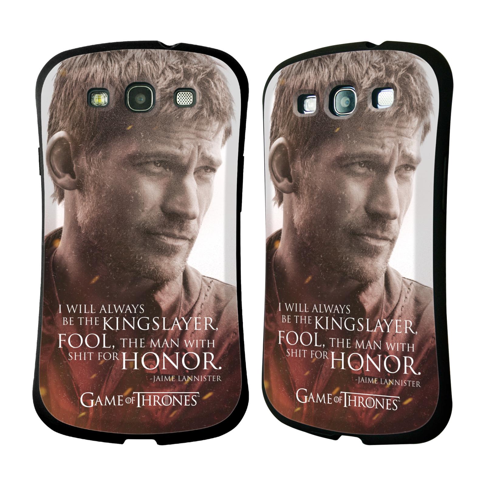 HEAD CASE silikon/plast odolný obal na mobil Samsung Galaxy S3 i9300 / S3 NEO Hra o trůny postava Jaime Lannister králokat
