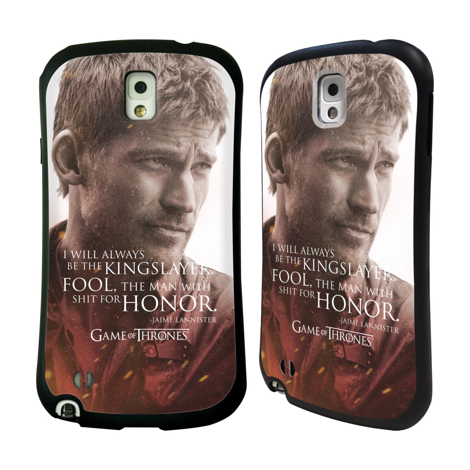 HEAD CASE silikon/plast odolný obal na mobil Samsung Galaxy NOTE 3 (N9005) Hra o trůny postava Jaime Lannister králokat