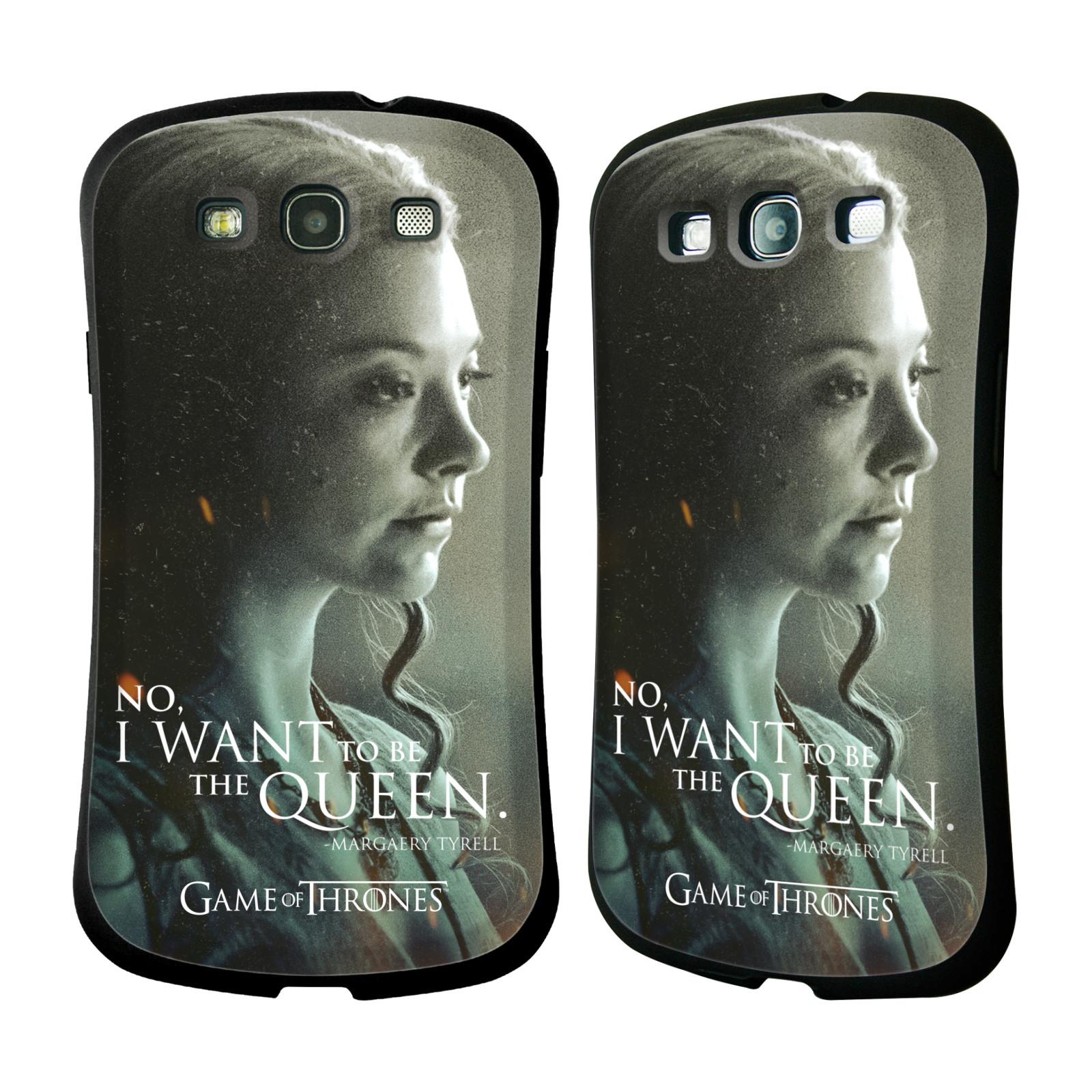 HEAD CASE silikon/plast odolný obal na mobil Samsung Galaxy S3 i9300 / S3 NEO Hra o trůny postava chytrá a krásná Margaery Tyrell