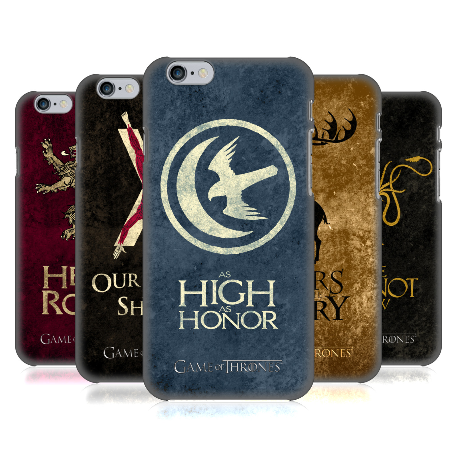 Game of Thrones Dark Distressed Sigils