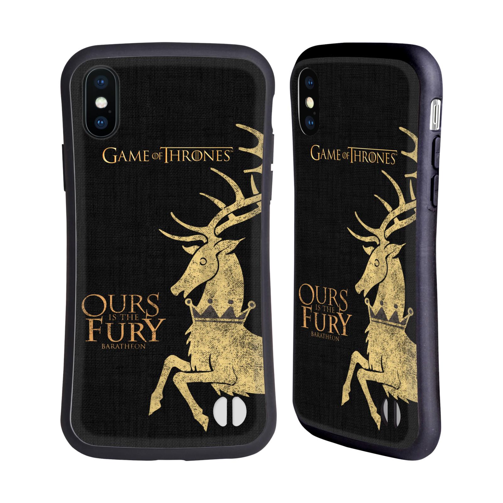 HEAD CASE odolný obal na mobil Apple Iphone X a XS oficiální kryt Hra o trůny Rod Arrynů z Orlího hnízda