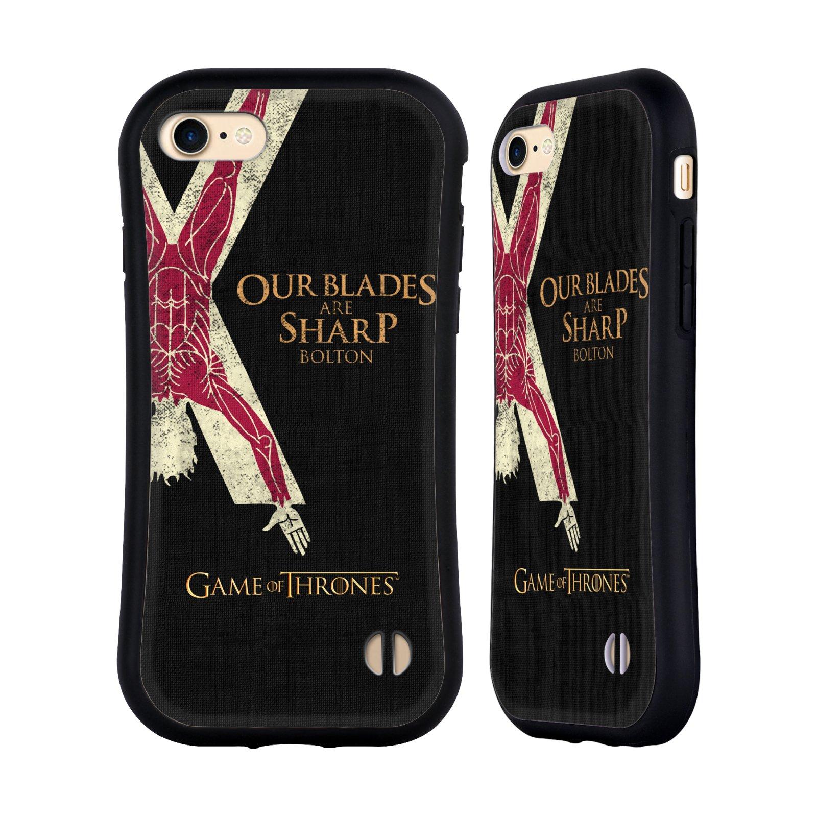 HEAD CASE odolný obal na mobil Apple Iphone 8 oficiální kryt Hra o trůny Rod Boltonů z Hrůzova
