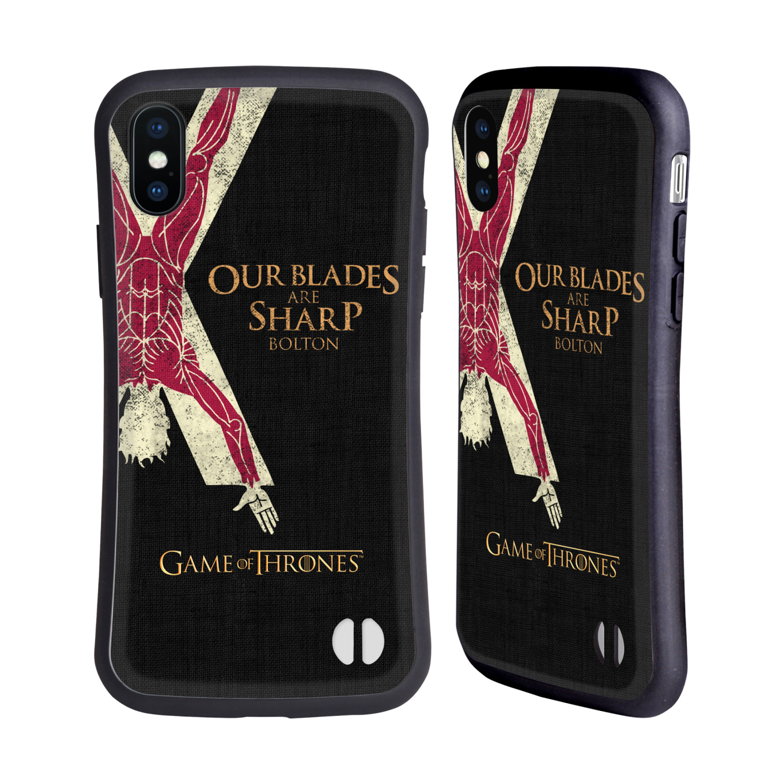 HEAD CASE odolný obal na mobil Apple Iphone X a XS oficiální kryt Hra o trůny Rod Boltonů z Hrůzova