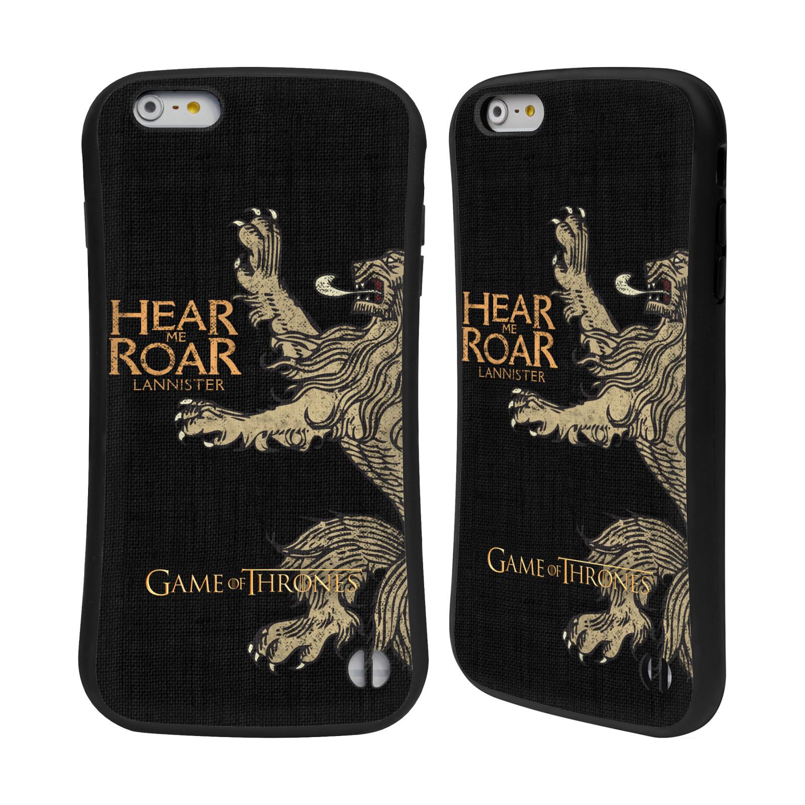 HEAD CASE odolný obal na mobil Apple Iphone 6 6S PLUS oficiální kryt Hra o  empty 37b8fdeb8a8