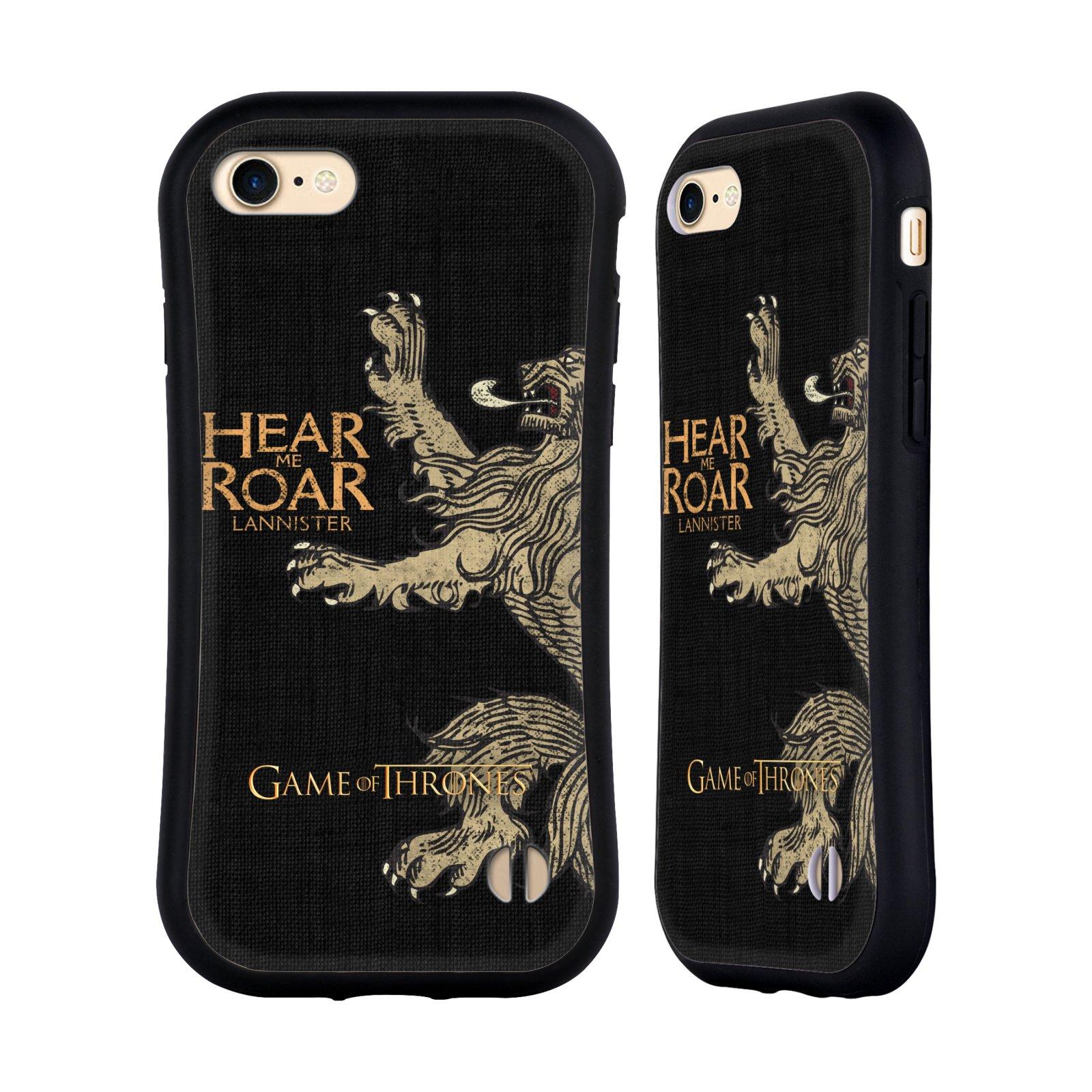 HEAD CASE odolný obal na mobil Apple Iphone 8 oficiální kryt Hra o trůny Lannisterové z Casterlyovi skály