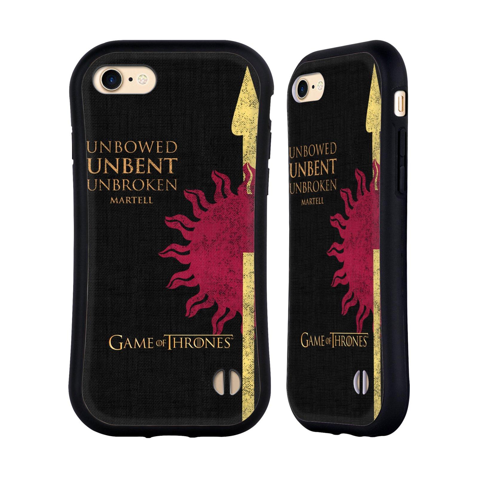 HEAD CASE odolný obal na mobil Apple Iphone 8 oficiální kryt Hra o trůny Martellové z Dorne