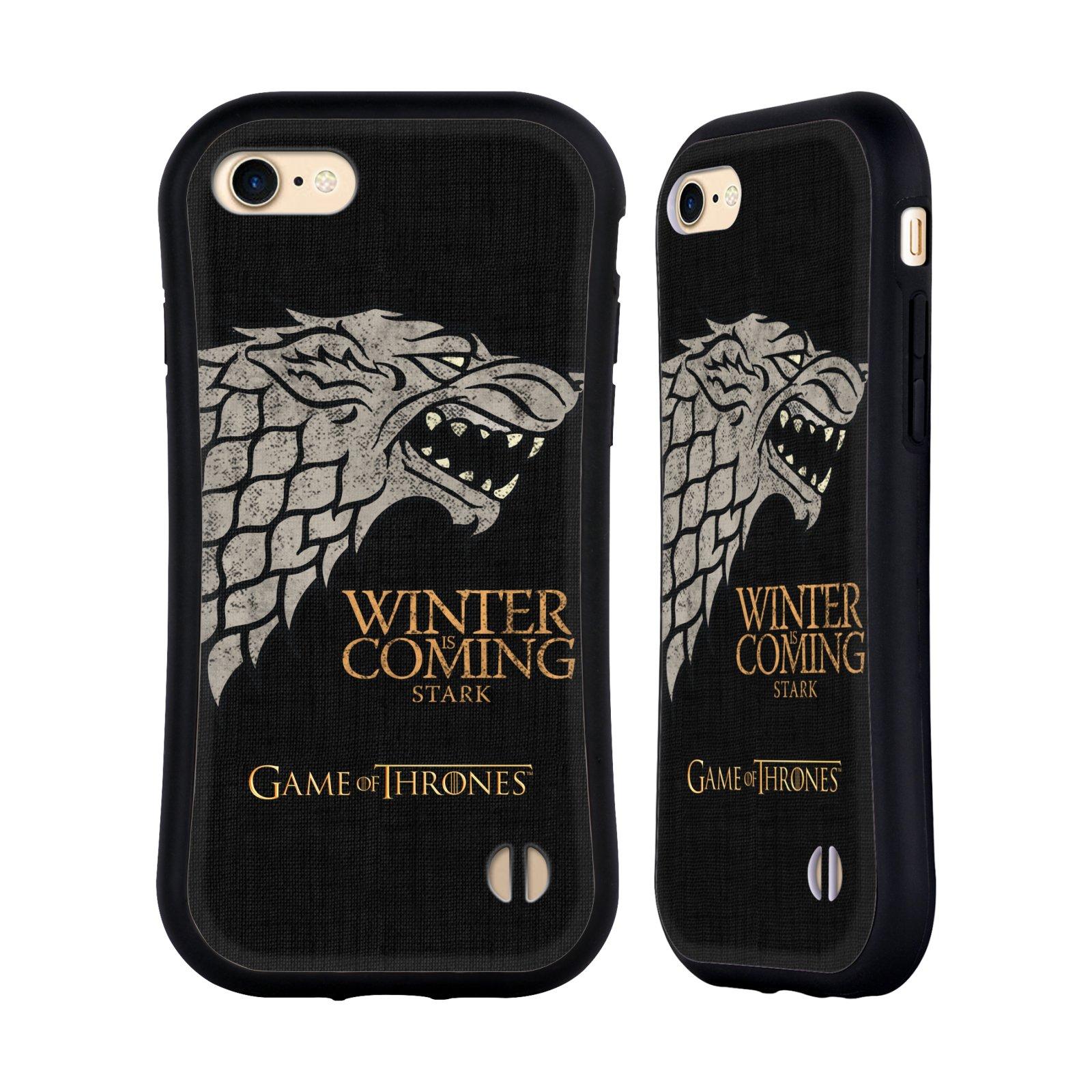 HEAD CASE odolný obal na mobil Apple Iphone 8 oficiální kryt Hra o trůny Starkové ze Zimohradu