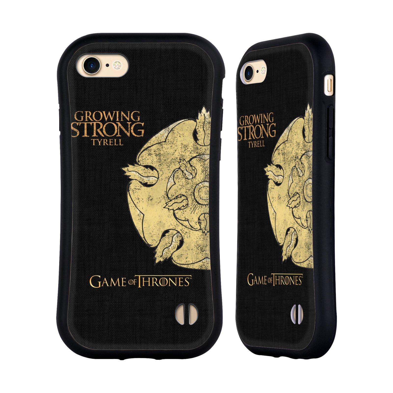 HEAD CASE odolný obal na mobil Apple Iphone 8 oficiální kryt Hra o trůny Rod Tyrellové z Vysoké zahrady