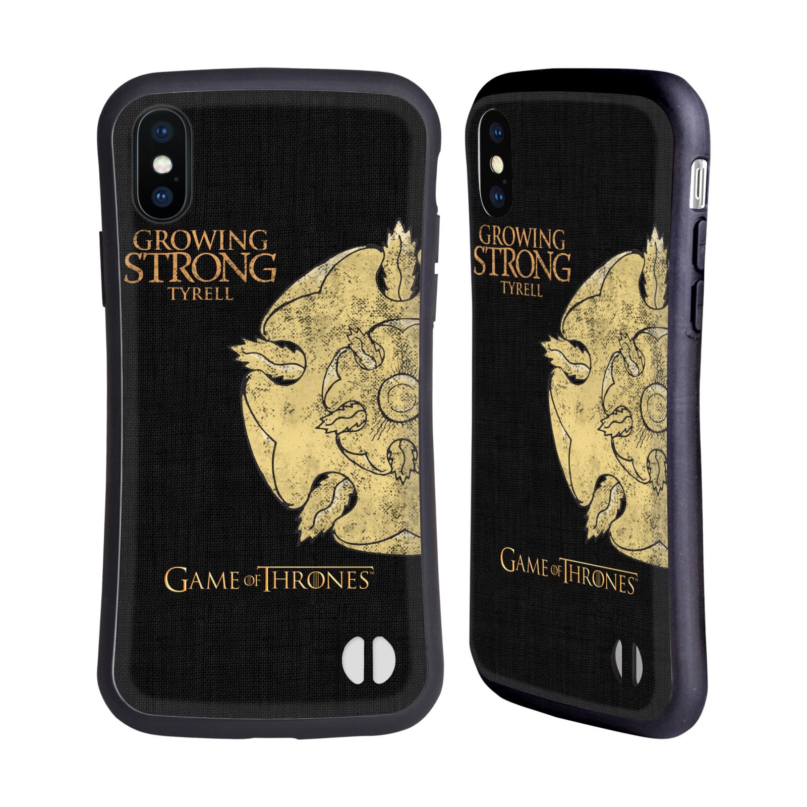 HEAD CASE odolný obal na mobil Apple Iphone X a XS oficiální kryt Hra o trůny Rod Tyrellové z Vysoké zahrady