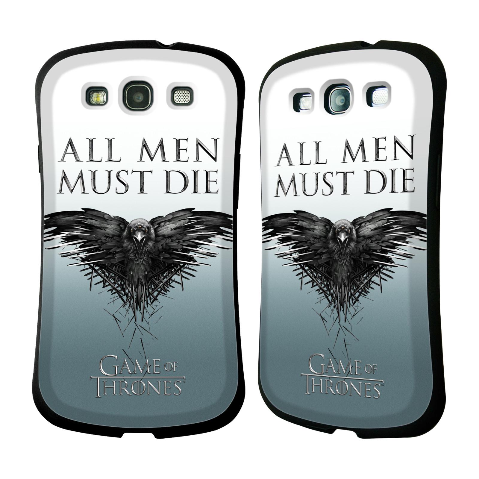 HEAD CASE silikon/plast odolný obal na mobil Samsung Galaxy S3 i9300 / S3 NEO Hra o trůny Havran
