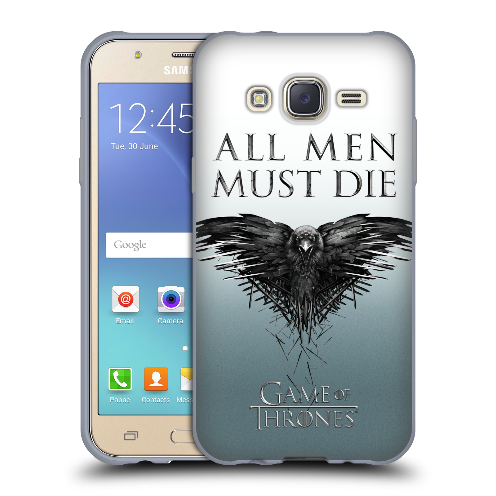 HEAD CASE silikonový obal na mobil Samsung Galaxy J5 2015 (J500) oficiální kryt Hra o trůny havran