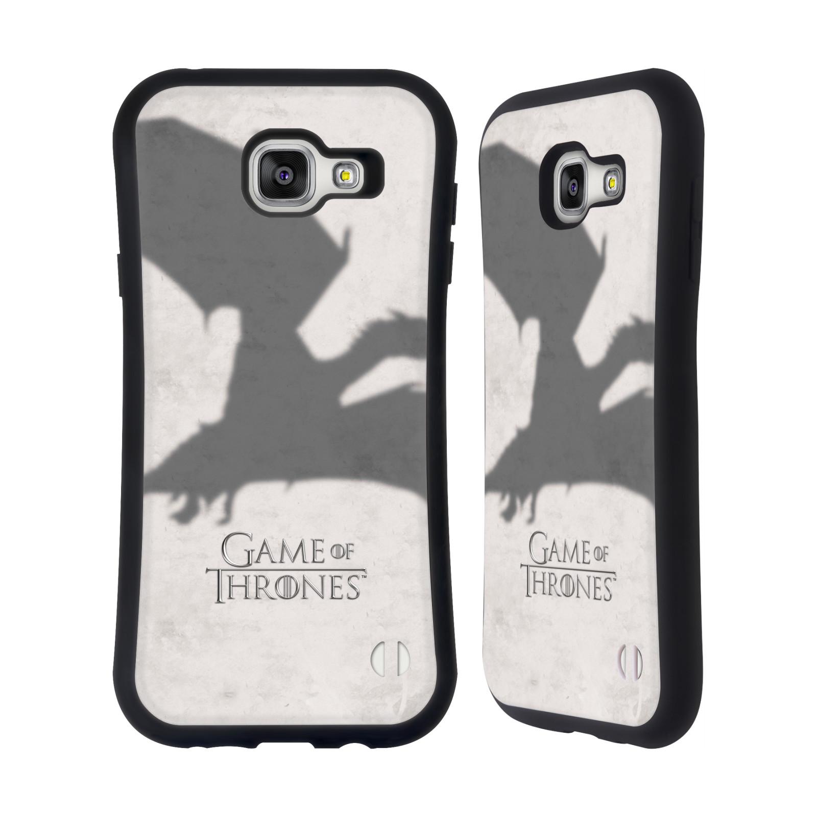 HEAD CASE silikon/plast odolný obal na mobil Samsung Galaxy A7 2016 (A710F) Hra o trůny Drak