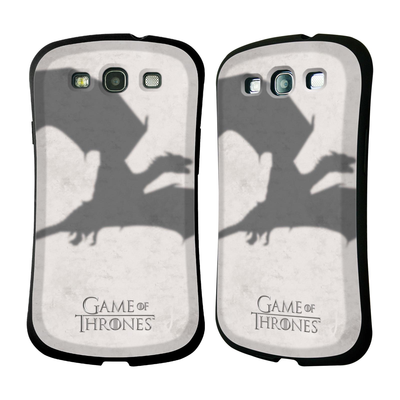 HEAD CASE silikon/plast odolný obal na mobil Samsung Galaxy S3 i9300 / S3 NEO Hra o trůny Drak
