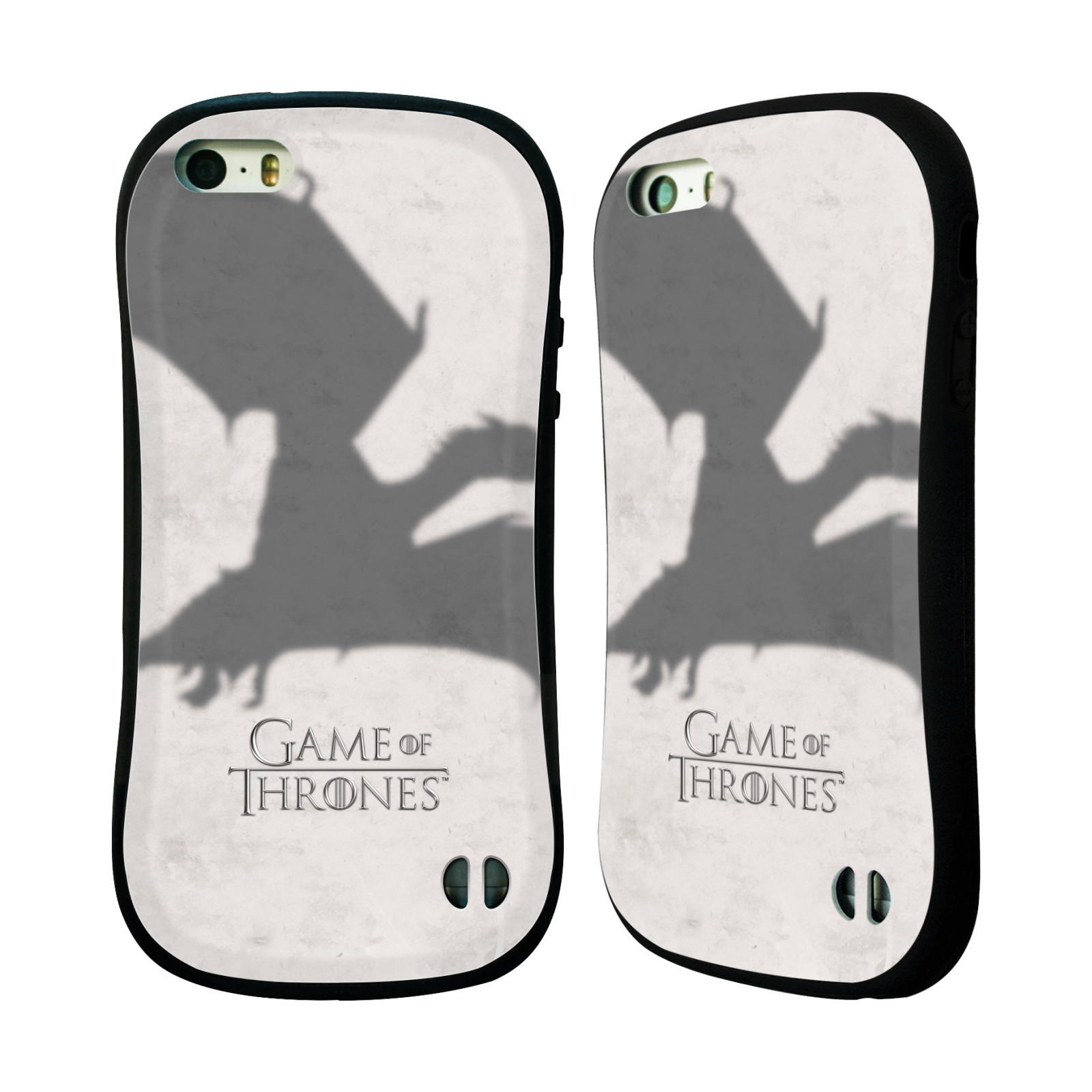 HEAD CASE silikon/plast odolný obal na mobil Apple Iphone 5 / 5S Hra o trůny Drak