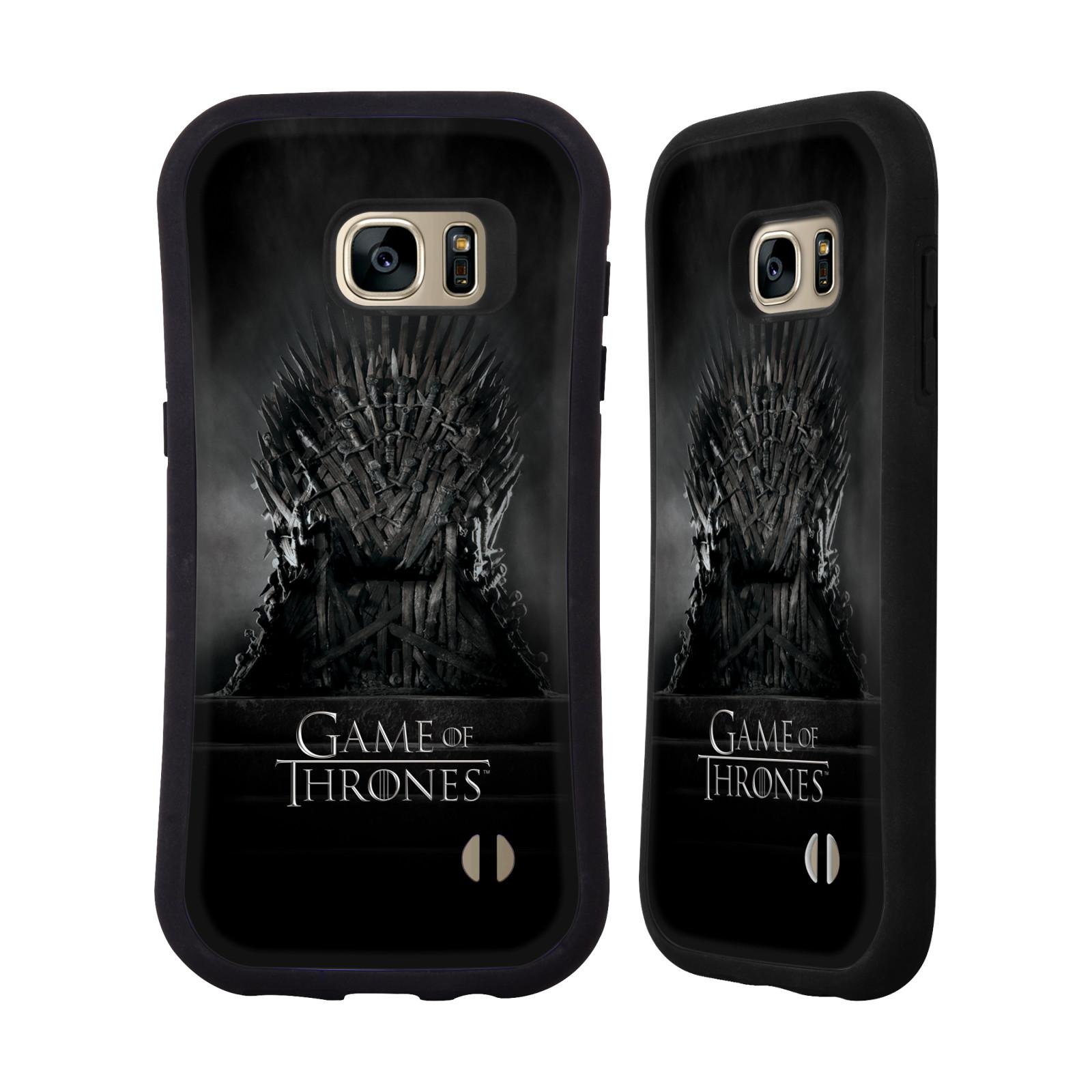 HEAD CASE silikon/plast odolný obal na mobil Samsung Galaxy S7 EDGE (G935F) Hra o trůny železný trůn