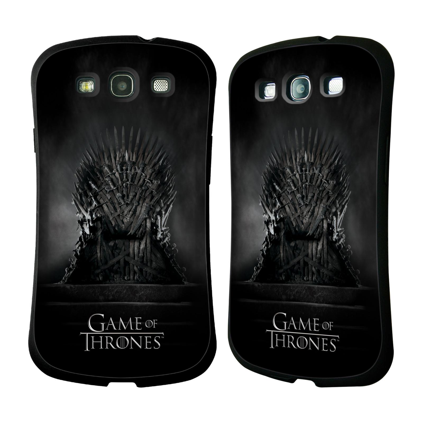 HEAD CASE silikon/plast odolný obal na mobil Samsung Galaxy S3 i9300 / S3 NEO Hra o trůny železný trůn