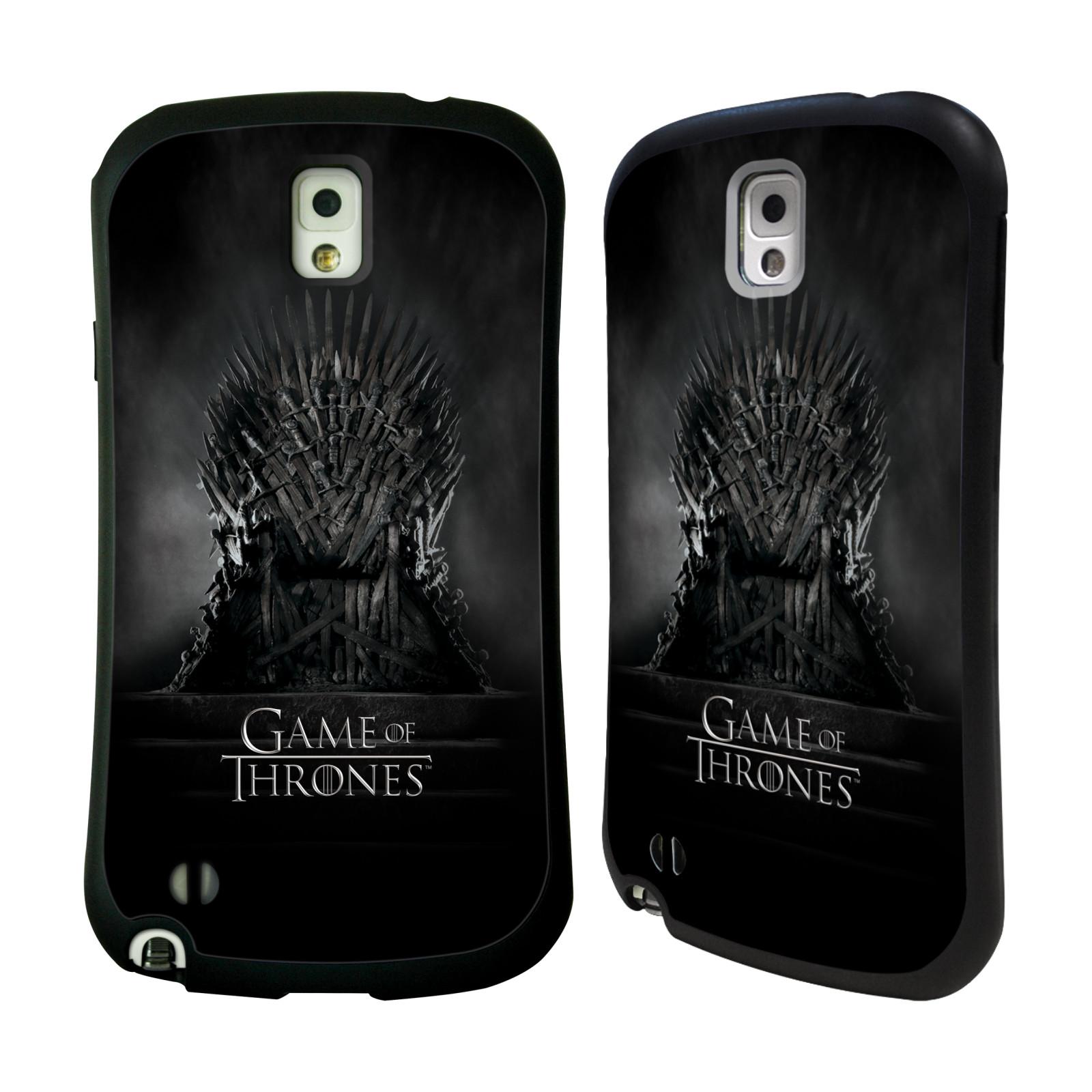 HEAD CASE silikon/plast odolný obal na mobil Samsung Galaxy NOTE 3 (N9005) Hra o trůny železný trůn