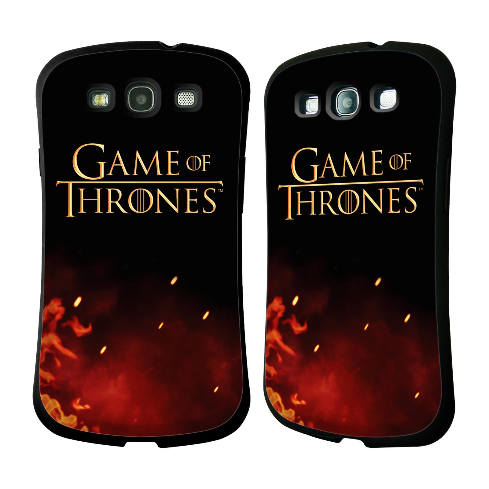 HEAD CASE silikon/plast odolný obal na mobil Samsung Galaxy S3 i9300 / S3 NEO Hra o trůny Logo oheň