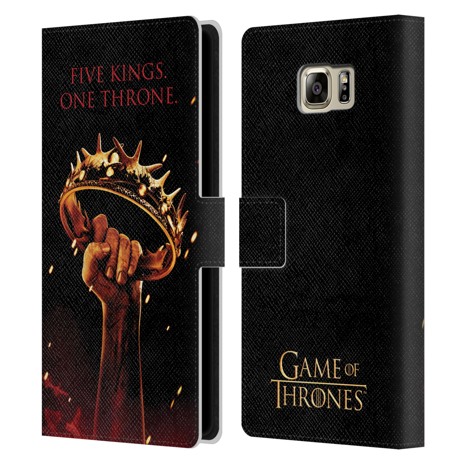 Pouzdro na mobil Samsung Galaxy NOTE 5 - Head Case - Hra o trůny koruna