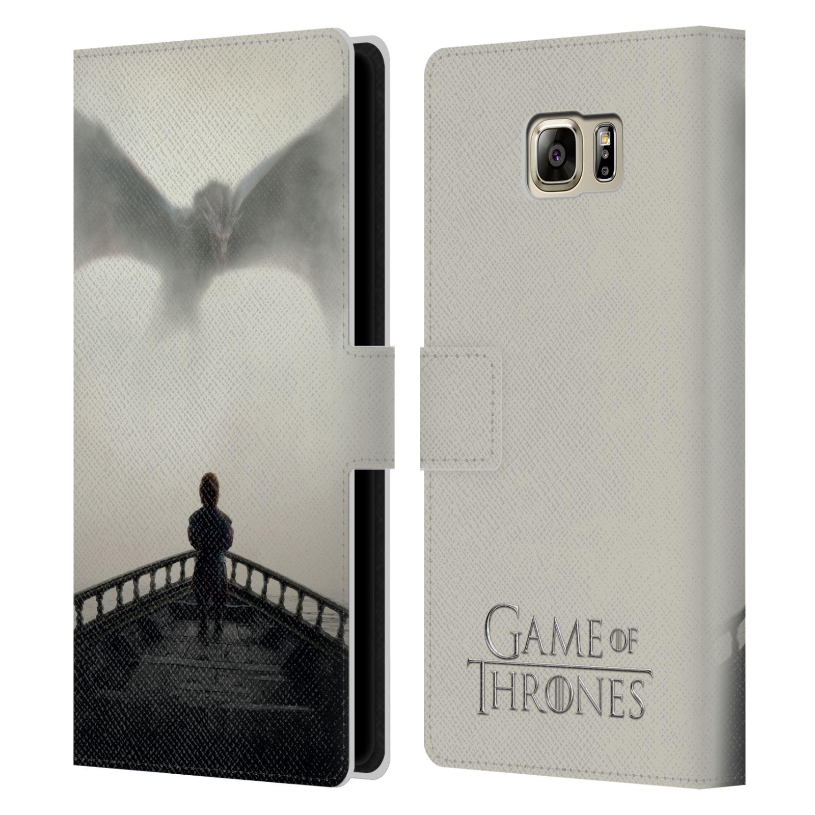 Pouzdro na mobil Samsung Galaxy NOTE 5 - Head Case - Hra o trůny draci přichází