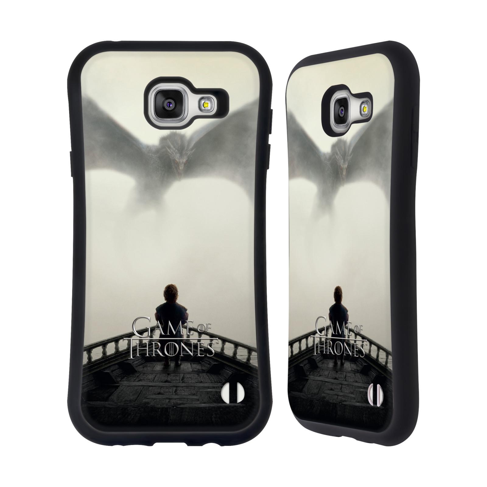HEAD CASE silikon/plast odolný obal na mobil Samsung Galaxy A7 2016 (A710F) Hra o trůny loď a drak (pomsta)