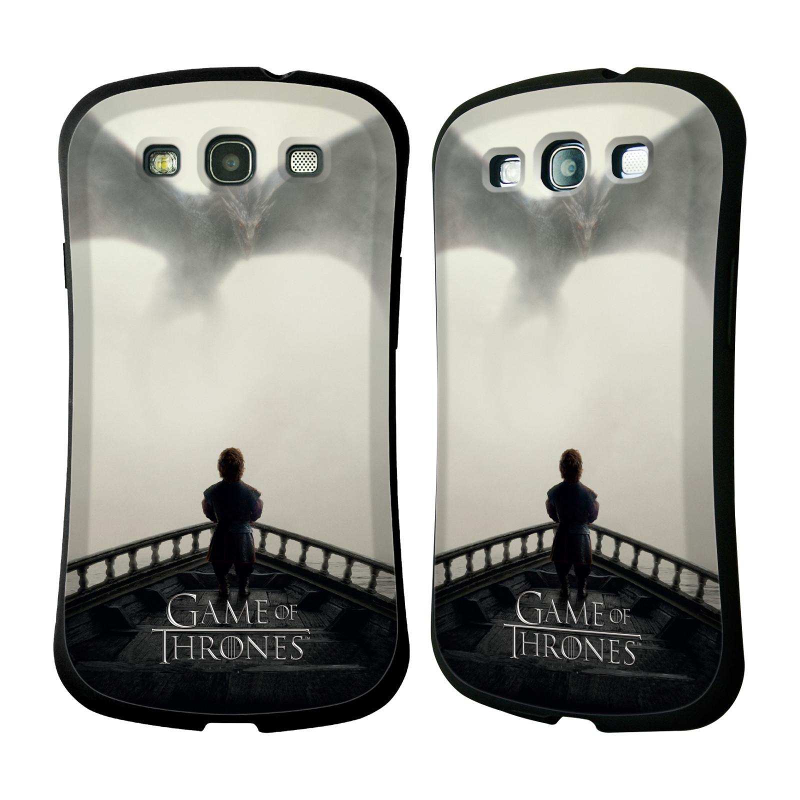 HEAD CASE silikon/plast odolný obal na mobil Samsung Galaxy S3 i9300 / S3 NEO Hra o trůny loď a drak (pomsta)