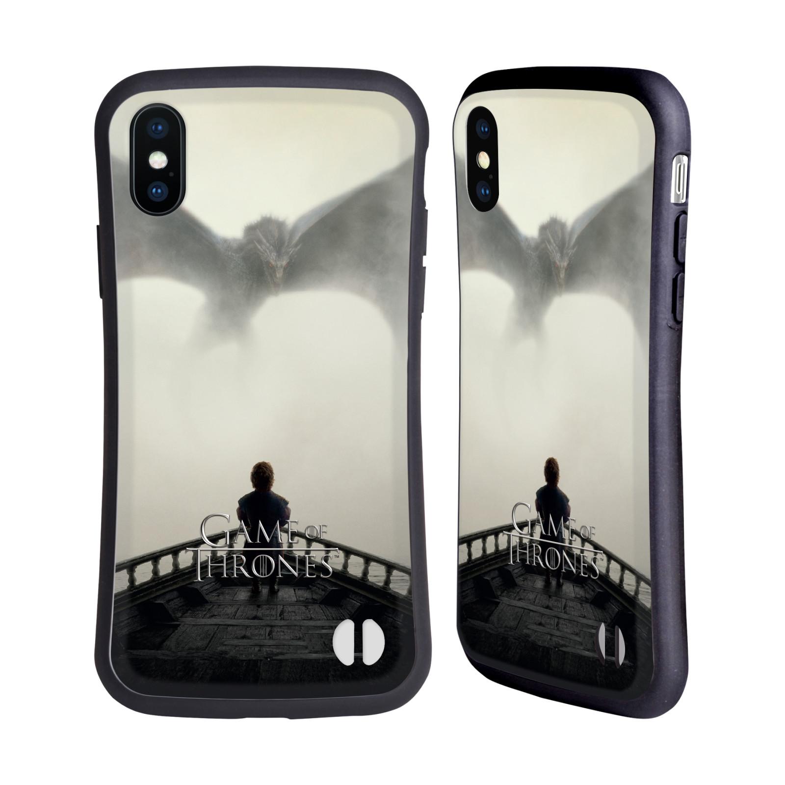 HEAD CASE odolný obal na mobil Apple Iphone X a XS oficiální kryt Hra o trůny drak