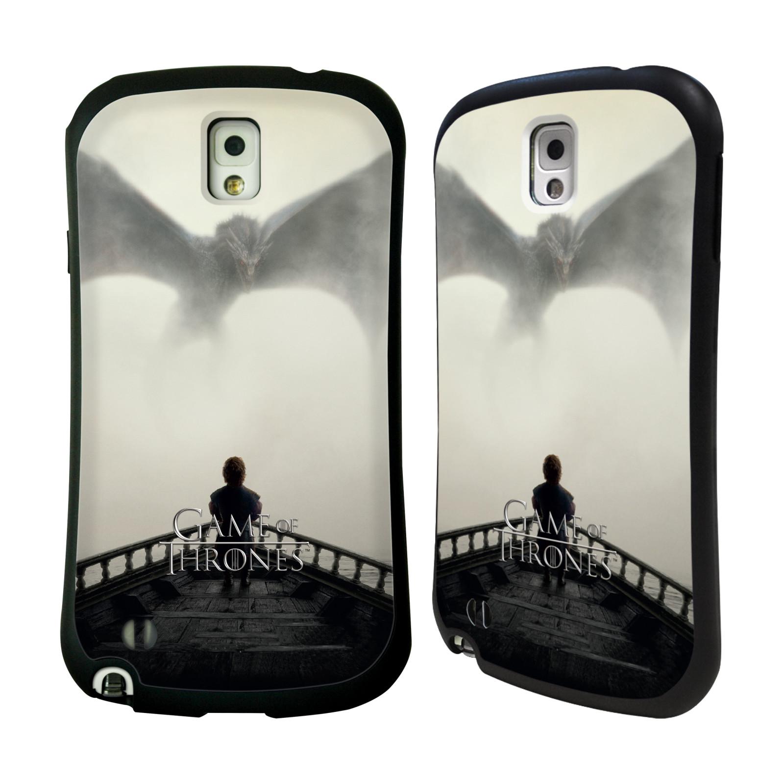 HEAD CASE silikon/plast odolný obal na mobil Samsung Galaxy NOTE 3 (N9005) Hra o trůny loď a drak (pomsta)