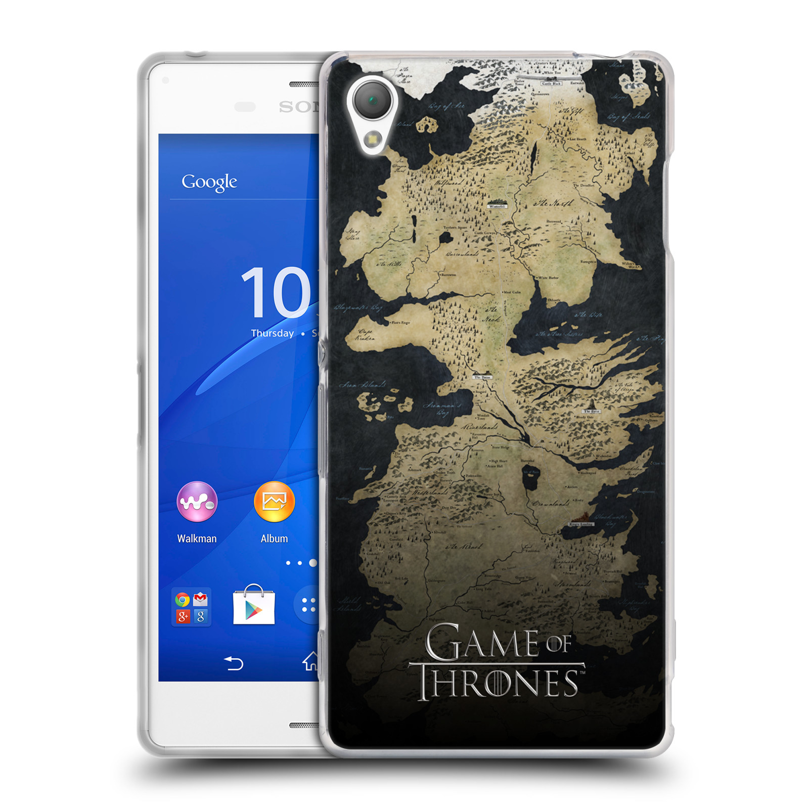 OFFICIAL HBO GAME OF THRONES KEY ART SOFT GEL CASE FOR SONY PHONES 1
