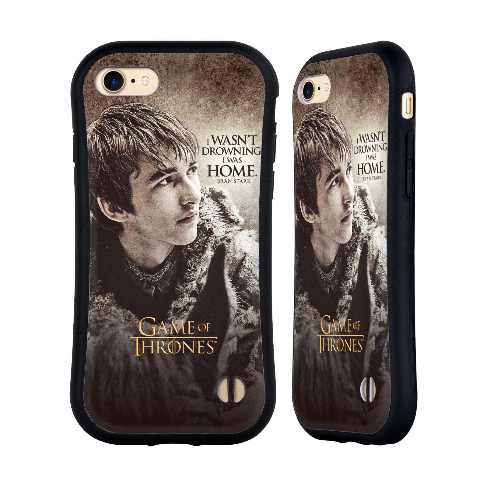 HEAD CASE odolný obal na mobil Apple Iphone 8 oficiální kryt Hra o trůny Bran Stark