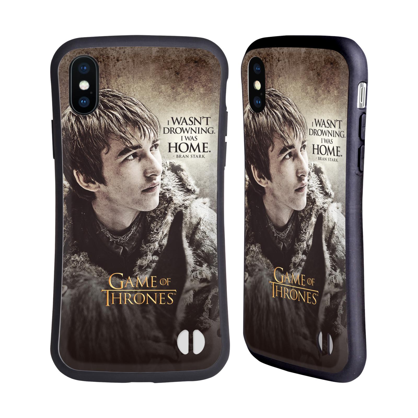 HEAD CASE odolný obal na mobil Apple Iphone X a XS oficiální kryt Hra o trůny Bran Stark